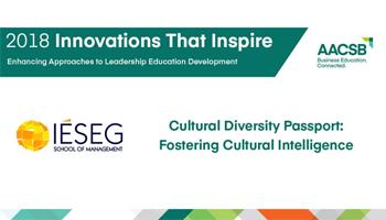 AACSB International Recognizes IÉSEG for Innovation in Leadership Development