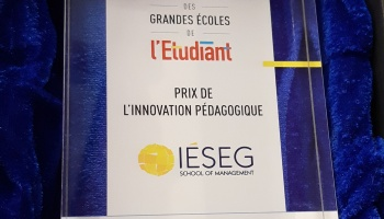 Pedagogical Innovation: Another Award For IESEG