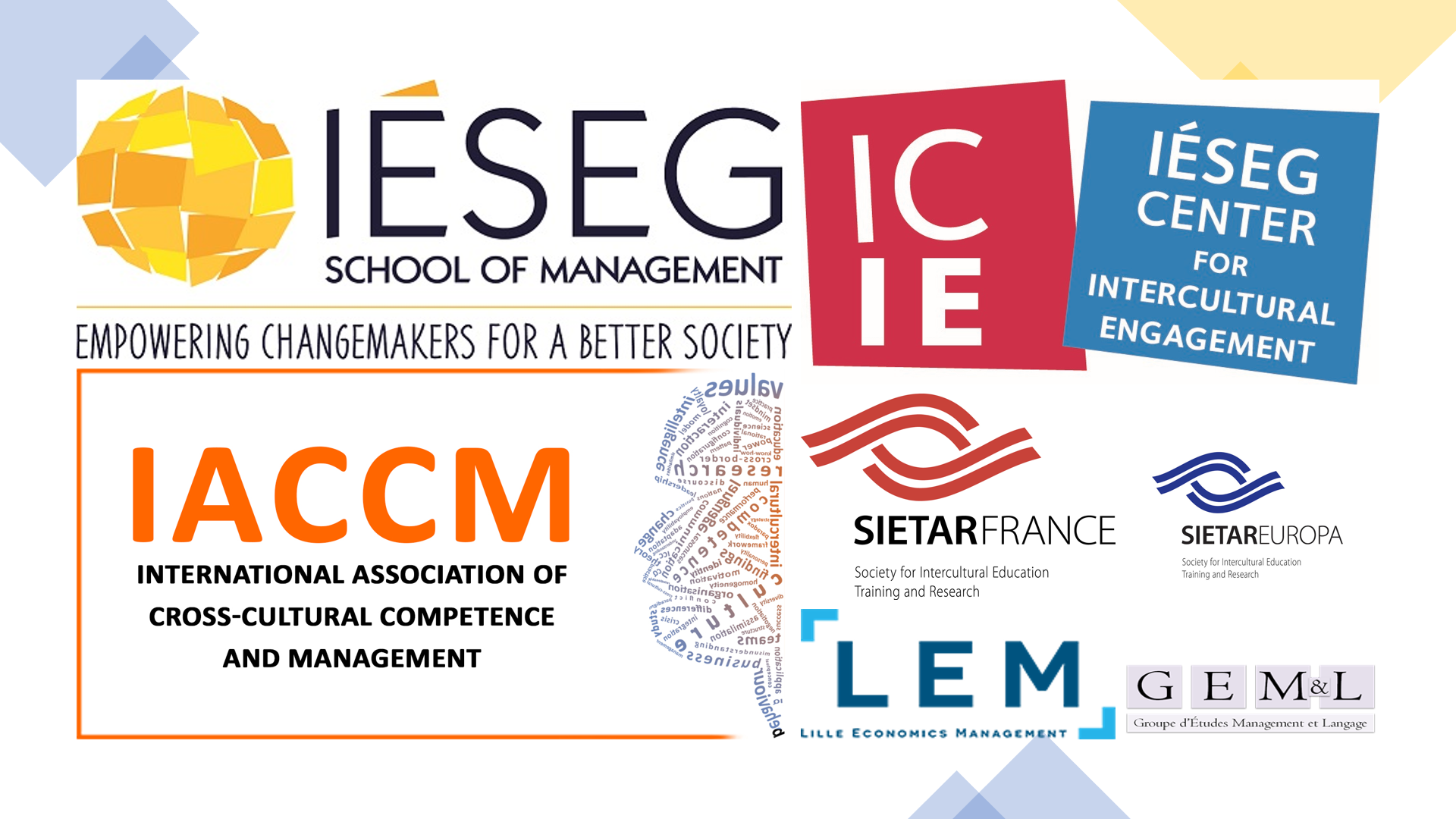 IÉSEG-ICIE Week of Intercultural Engagement March 15th-18th, 2021